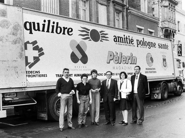 Transport z pomocą humanitarną z Amitié Pologne
