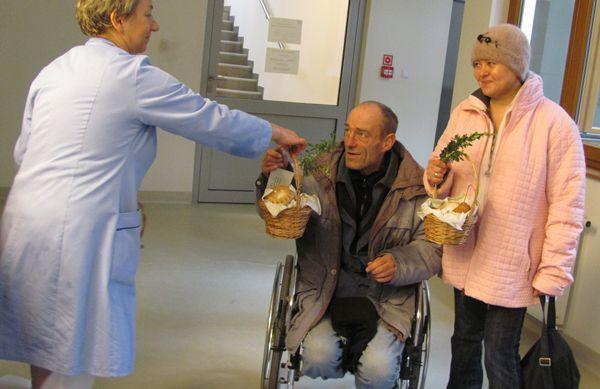 koszyki wielkanocne dla pacjentów